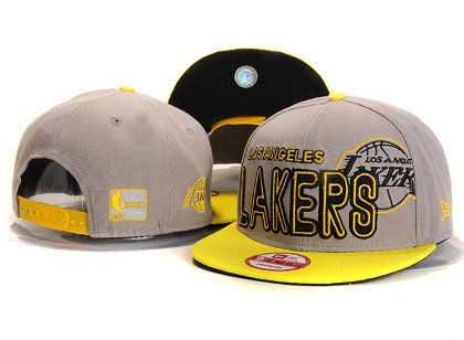 Los Angeles Lakers New Type Snapback Hat YS5601